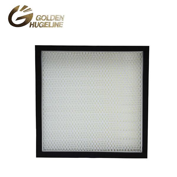 Clean Room Mini harmonijkowy filtr wymienny filtr HEPA dla FFU włóknem szklanym CE UL WN H14 Ciekawa obraz