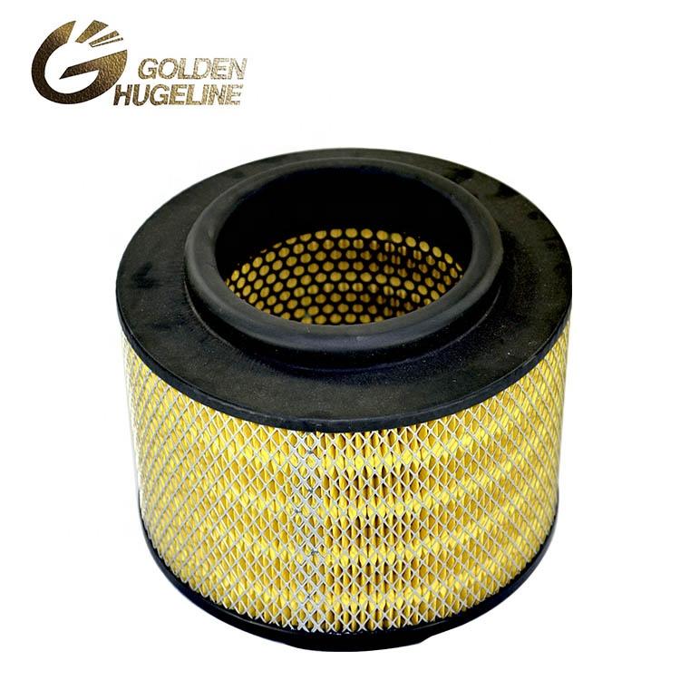 Auto engine parts 17801-OC010 round dump truck air filter