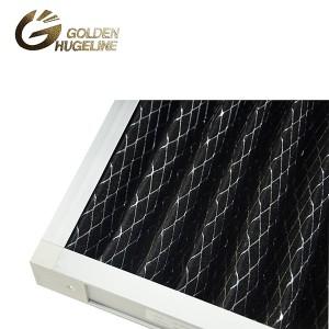 Aliuminio lydinio rėmas išorės rėmas PP KORYTOJO aktyvuotos anglies Pramonės oro filtras