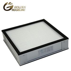 Clean Room Mini harmonijkowy filtr wymienny filtr HEPA dla FFU CE UL HV włókna szklanego H14