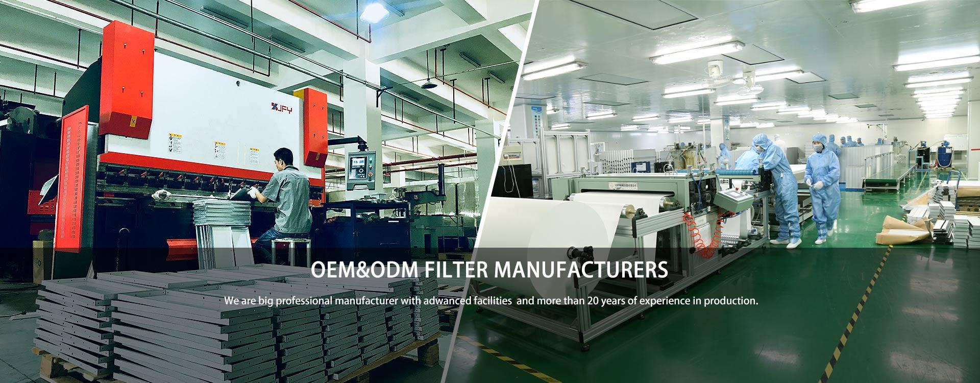OEM&ODM filter manufacturers