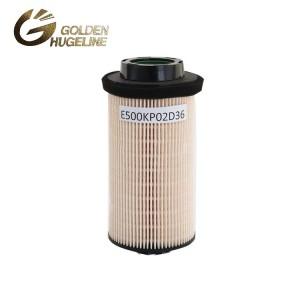 Ťažkých nákladných filtračný element filtračný E500KP02D36 Fuel
