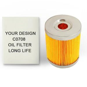 Cheap Diesel Engine Parts 0708 C0708A Fuel Filter Element fuel filter c0708