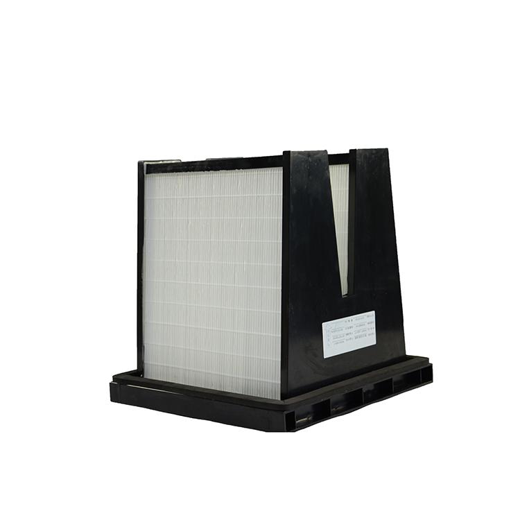 High Efficiency W Shape Composed Industrial HEPA Air Filter